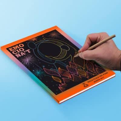 portada personalizable del llibret de falla impreso