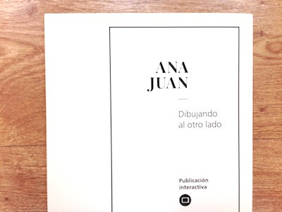Cubierta libro interactivo Ana Juan