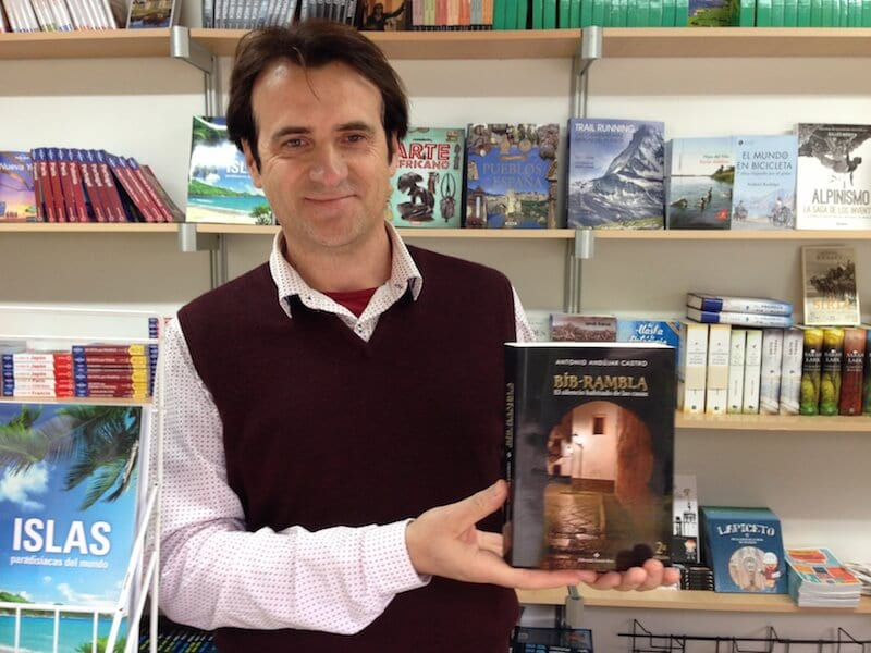 El escritor Antonio Andújar