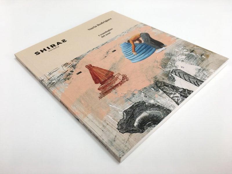 portada catálogo Cronologías del Azar Nuria Rodríguez