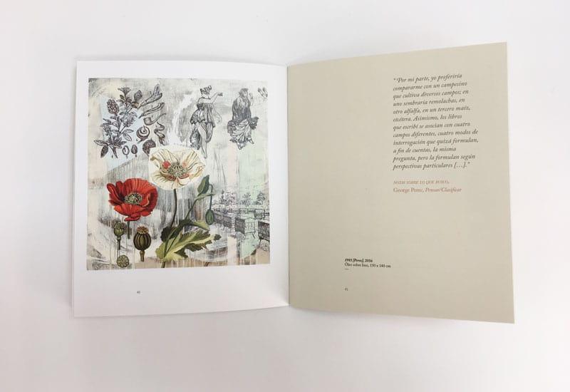 interior catálogo Cronologías del Azar Nuria Rodríguez