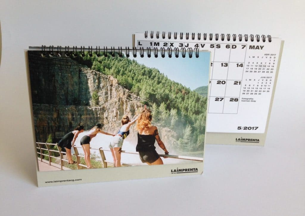 Carmen Gray Calendario La Imprenta