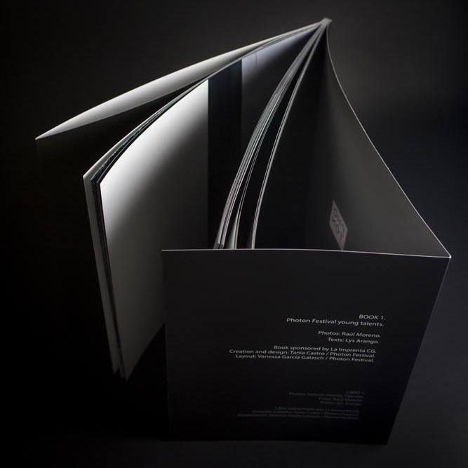 detalle impresión fotolibro de Raúl Moreno