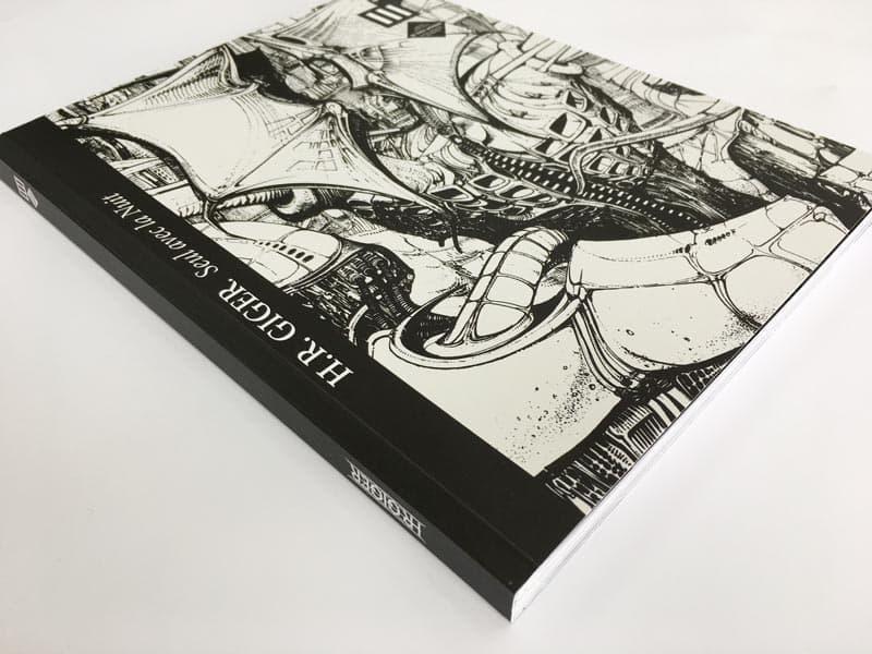 portada libro h.r. giger