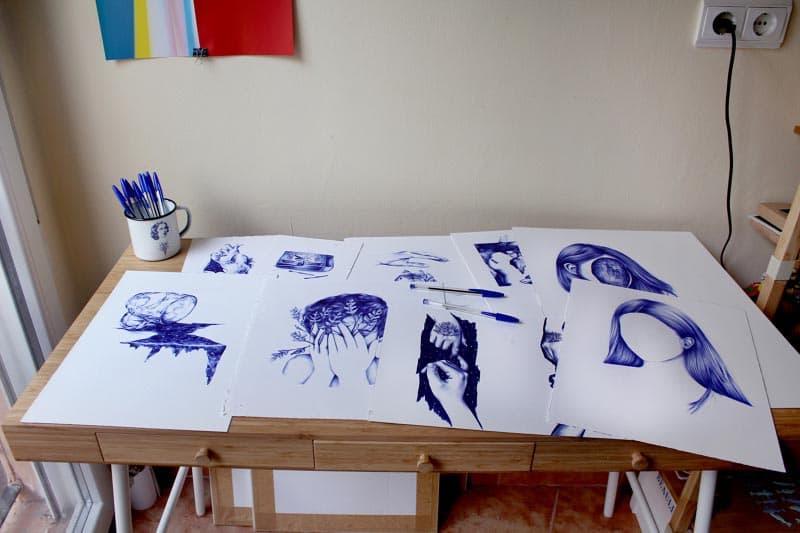 nuria riaza ilustraciones