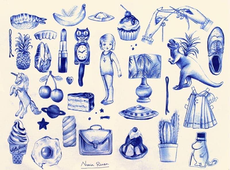 nuria riaza ilustracion