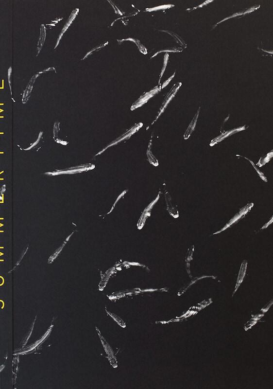 Detalle de la portada del fotolibro Summertime