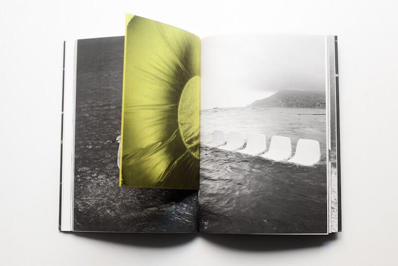 Cuadernillo central del fotolibro Summertime