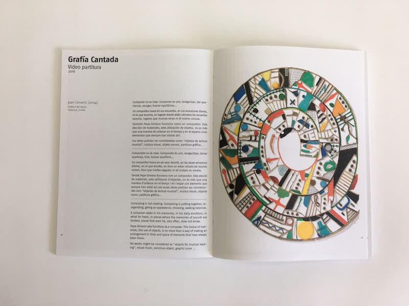 Catálogo exposición Pepe Gimenoo