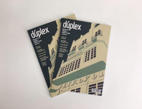 Imprimimos la revista de diseño y cultura visual Dúplex 05