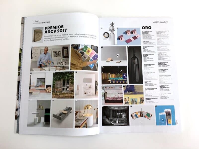 Revista Duplex interior La Imprenta Cg