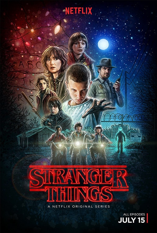 stranger things poster ed benguiat