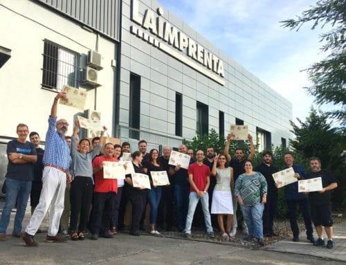 La Imprenta CG, reconocida con 11 premios a la calidad de impresión en 2017