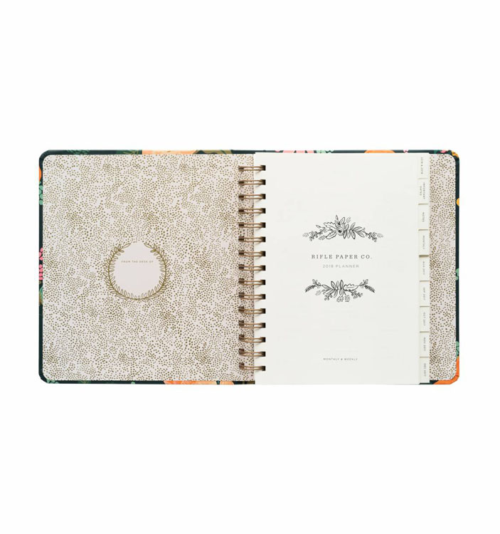 agendas 2018 rifle paper co