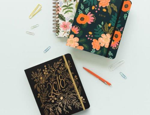 Las agendas más bonitas para 2018