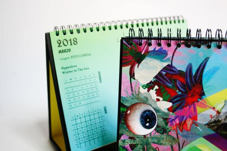 fito conesa calendario imprenta cg