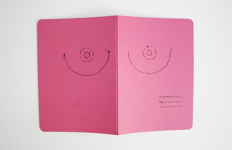 libretas 8 de marzo free the nipple