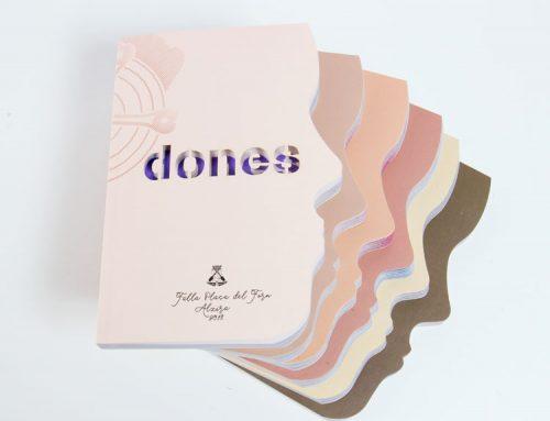 """""""Dones"""": el espectacular y reivindicativo llibret de falla de la Plaça del Forn"""