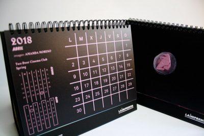 amanda moreno calendario impresión