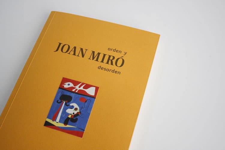 catálogo joan miró libro