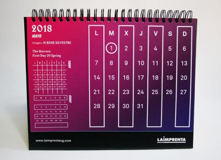 calendario mayo la imprenta cg