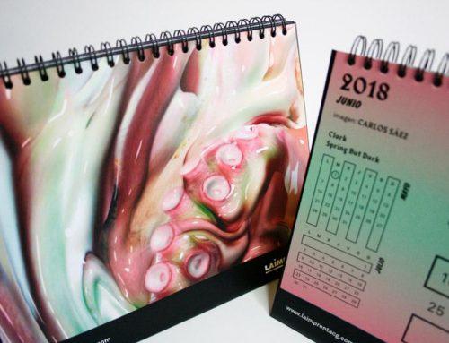 Carlos Sáez, el arte digital protagoniza el mes de junio de nuestro calendario