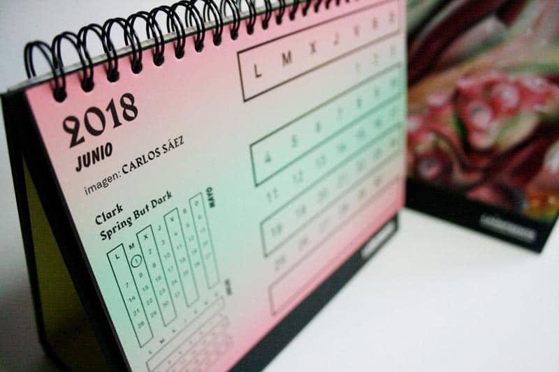 carlos saez artista calendario