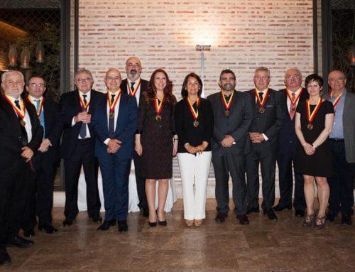 Los gerentes de La Imprenta CG, Senadores del Museo de la Imprenta