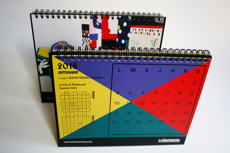 calendario la imprenta cg