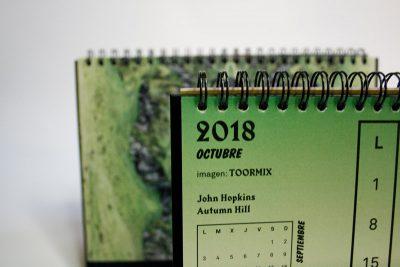 octubre calendario la imprenta cg