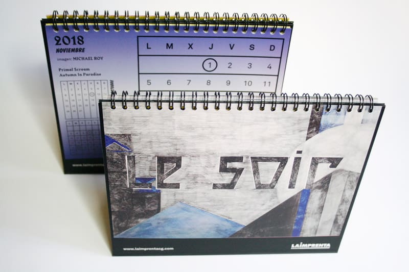 michael roy calendario imprenta