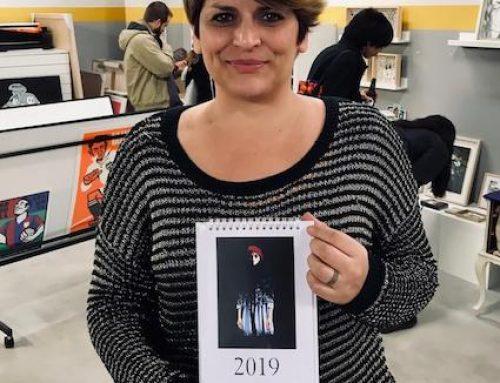 El calendario 2019 de La Imprenta CG se presenta en Pepita Lumier