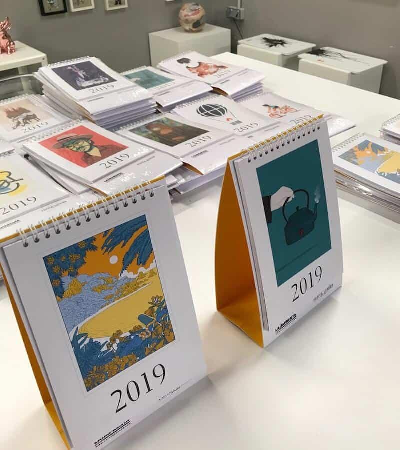 calendario imprenta cg