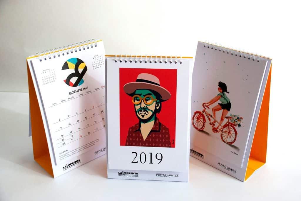 calendario la imprenta cg 2019