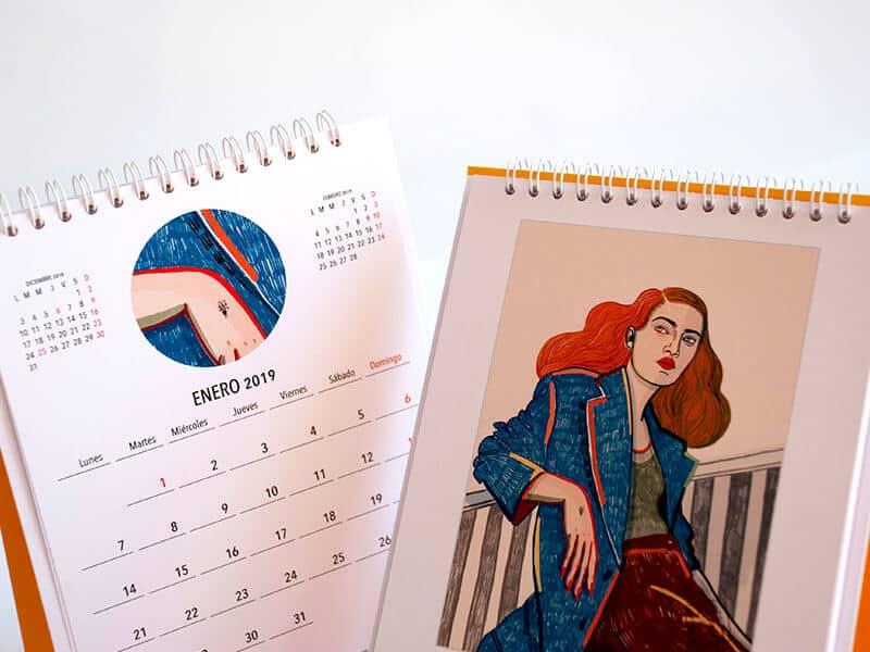 Carla Fuentes calendario