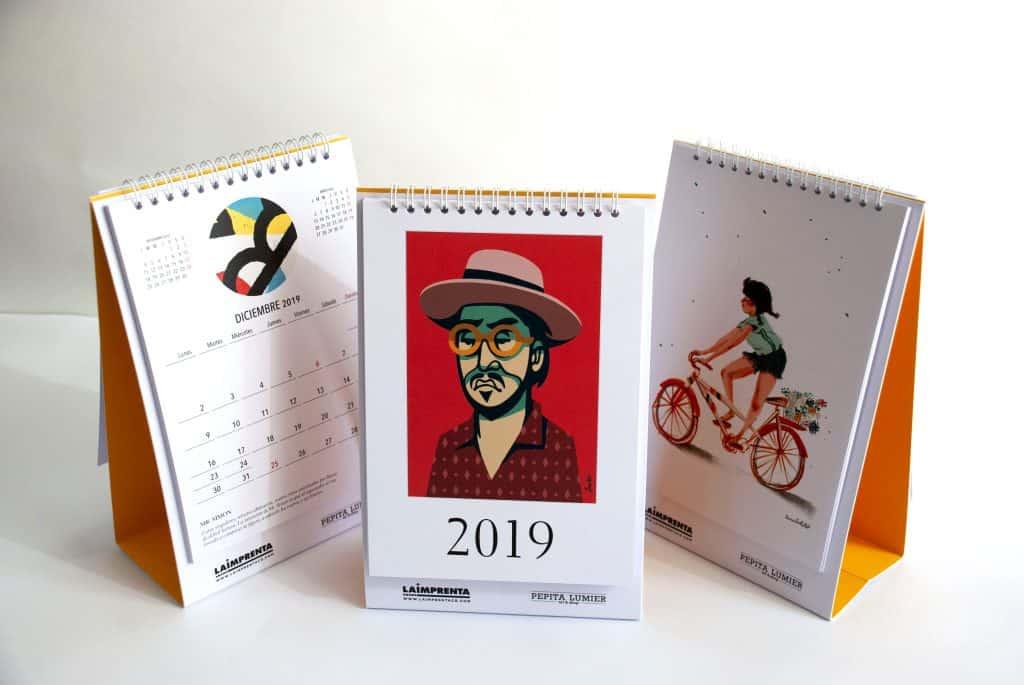 calendario la imprenta