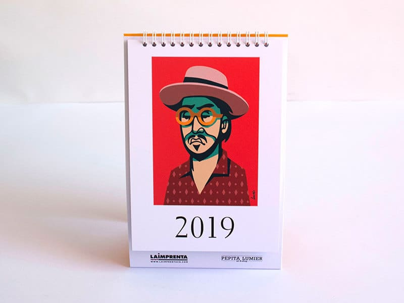 Jorge Lawerta calendario La Imprenta CG