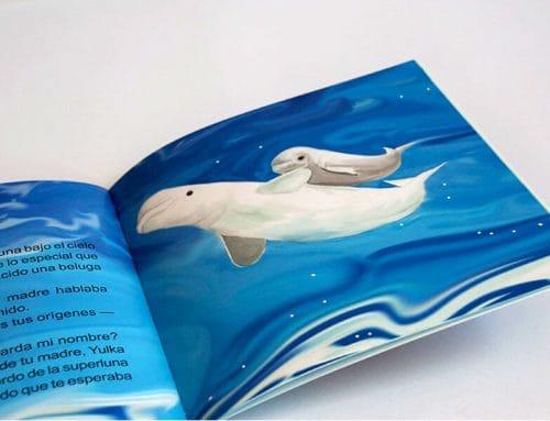 Conoce la historia de Kylu, el bebé beluga valenciano