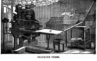Prensa Stanhope