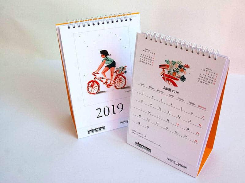 laura castelló calendario dibujo