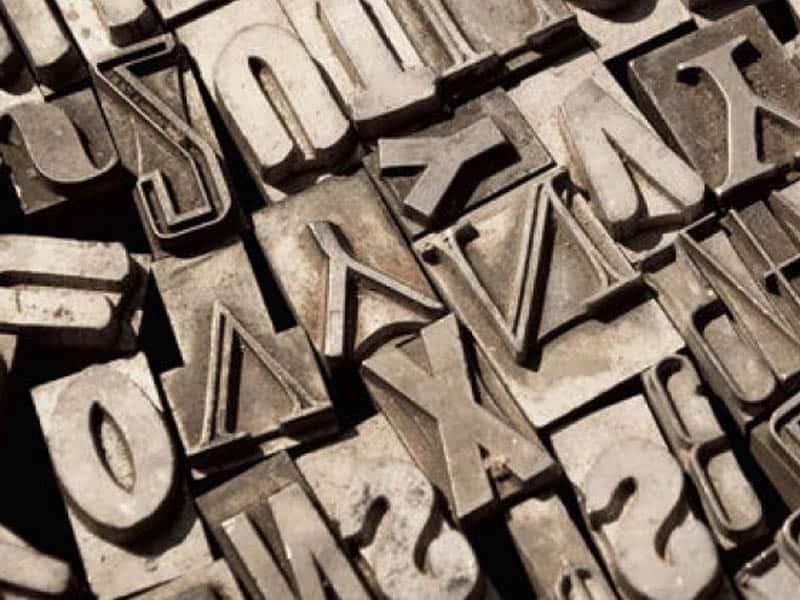 estampación tipográfica revista