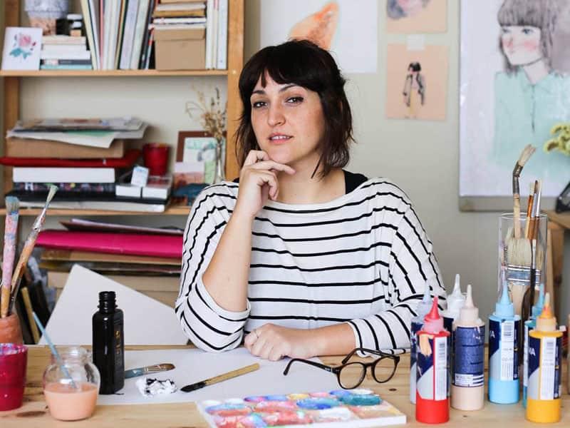 Calendario Laura.La Ilustradora Laura Castello Nos Roba El Mes De Abril