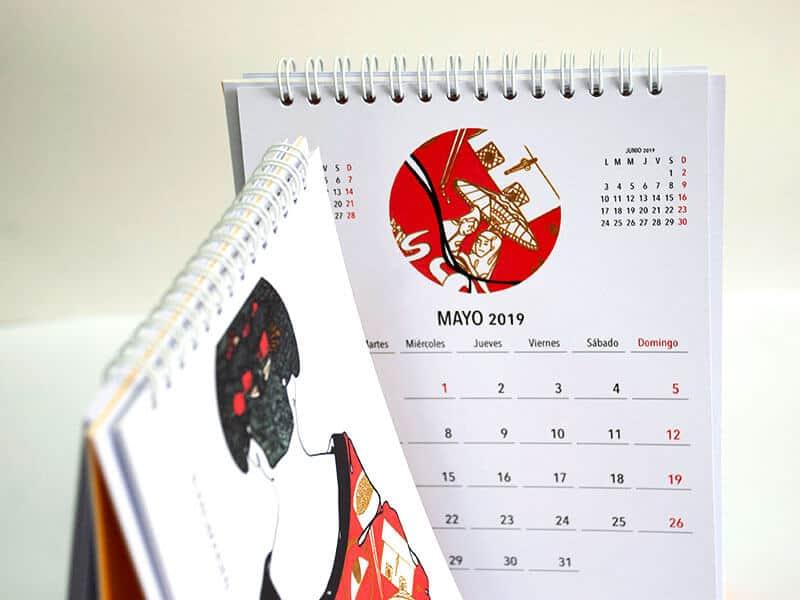 Ada Diez calendario La Imprenta CG