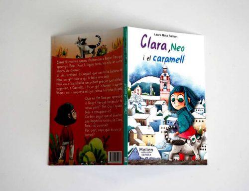 Clara, Neo i el caramell, un cuento perfecto para vacaciones