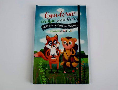 Viajar con nanos es un placer con el Cuaderno de campo para niños