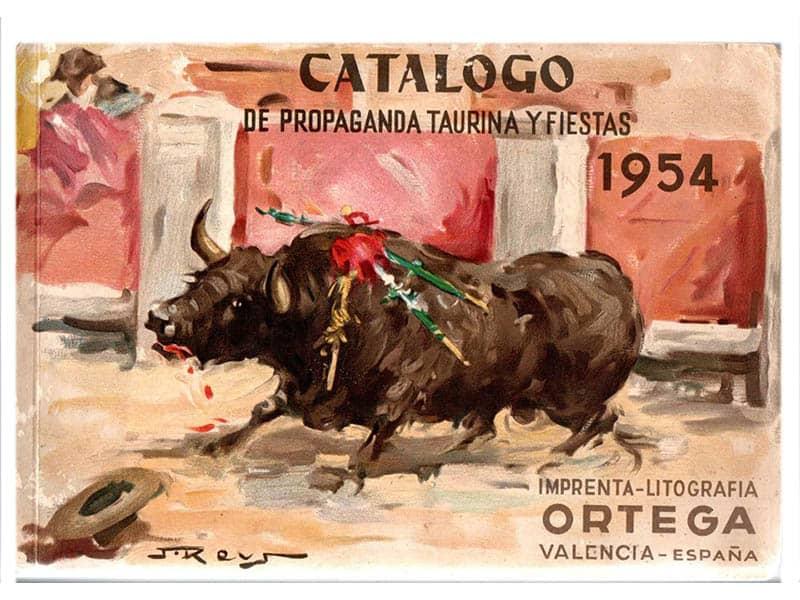 Catalogo taurino 1954
