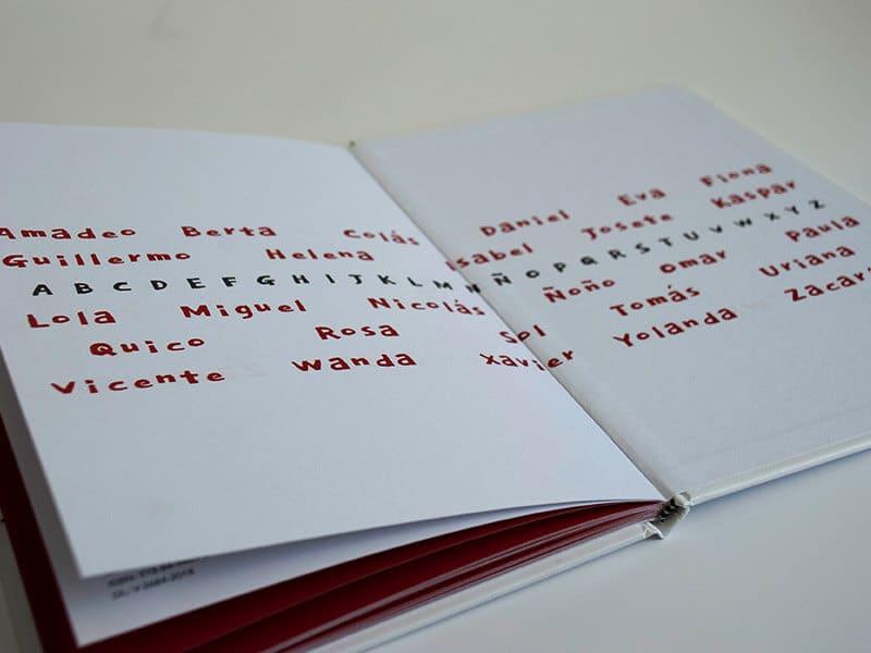 abecedario en verso