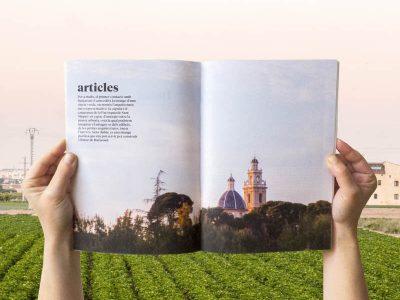 folleto medio ambiente destacado