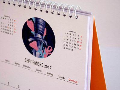 Nuria Riaza calendario