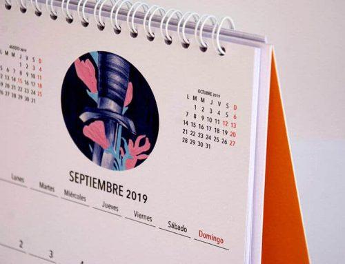 Vuelta al cole con un boli BIC: Nuria Riaza ilustra nuestro calendario